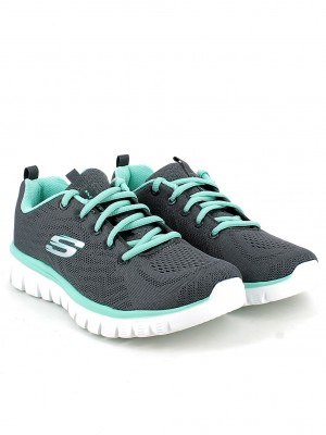 Graceful-Get Connected Charcoal-Green