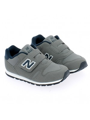 IV373FB Synthetic Leather/Yextile Grey/Navy