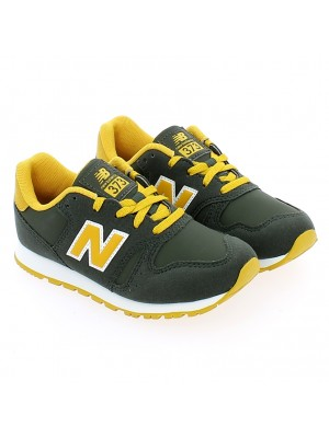YC373FD Synthetic Leather/Textile Green/Yellow