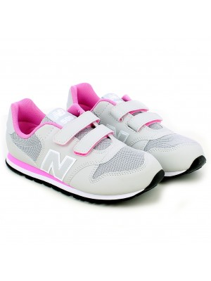 Sneaker 500 Synthetic/Textil Grey/Pink