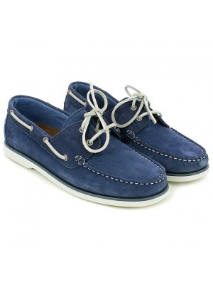 Mocassino stringato Navigator Mood Indigo Blue
