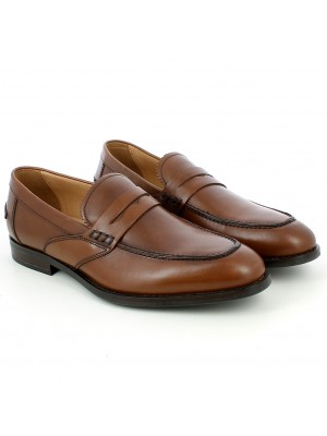 Mocassino Hampstead in pelle marrone