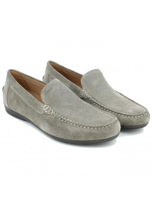 Mocassino Siron in Suede Taupe