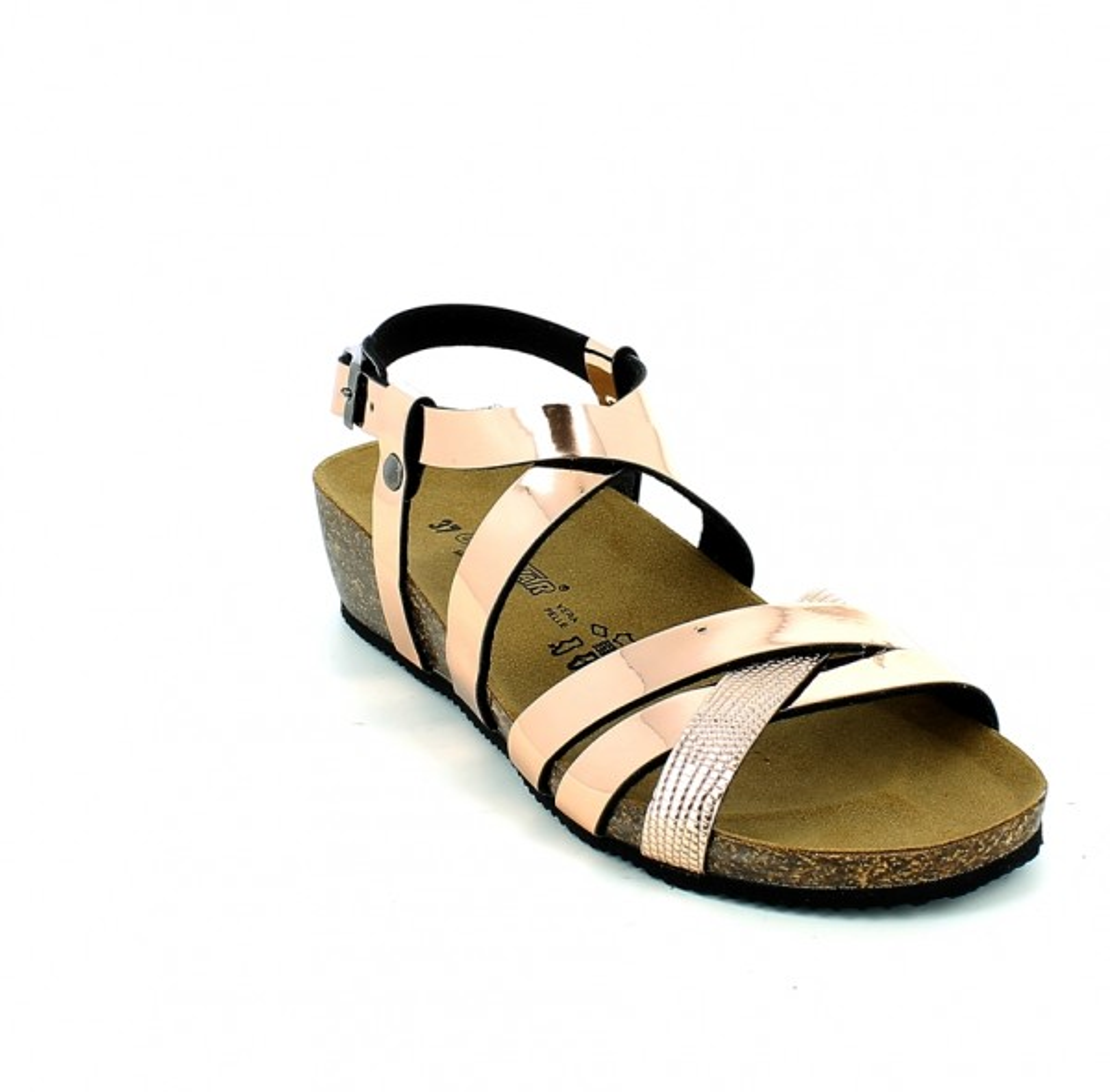 Sandalo con listini Oro