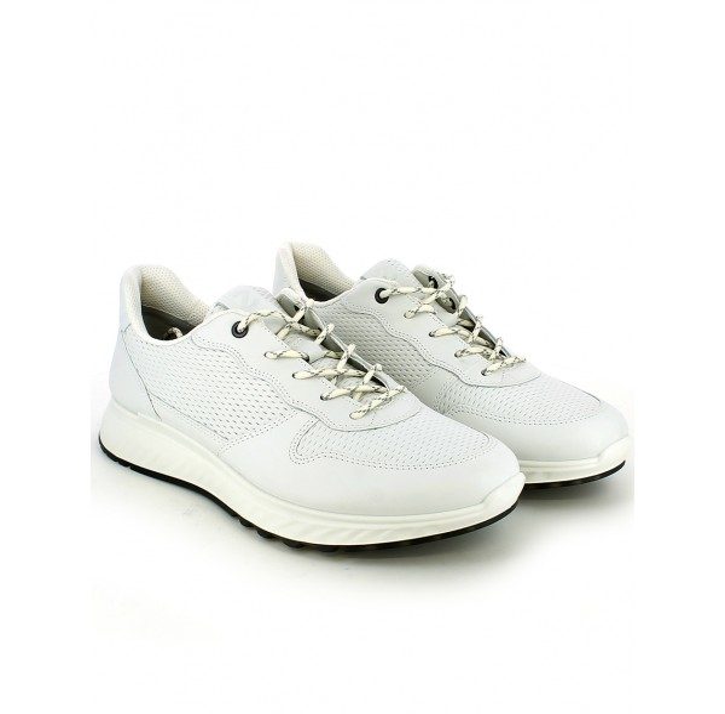 Sneaker in pelle bianca