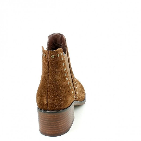 Chelsea Cade Brown Suede