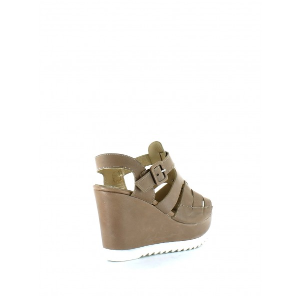 Sandalo ProgettoL'angolo Calzature Con Donna Tipo Zeppa Schiava fy7gb6
